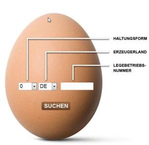 Eiercode Eierstempel Legebetrieb entschlüsseln - Was steht auf dem Ei