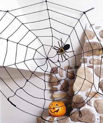 Halloween Deko selber basteln Halloween-Dekoration machen