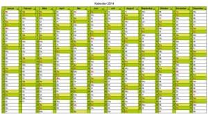 Kalender-2014-Excel-zum-kostenlosen-herunterladen