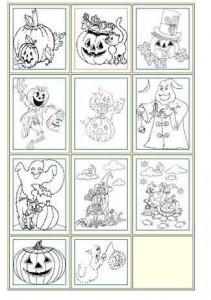 Malvorlagen Halloween Ausmalbilder Vorlagen-Hallow