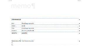 Memo Vorlage Word downloaden drucken bei Microsoft