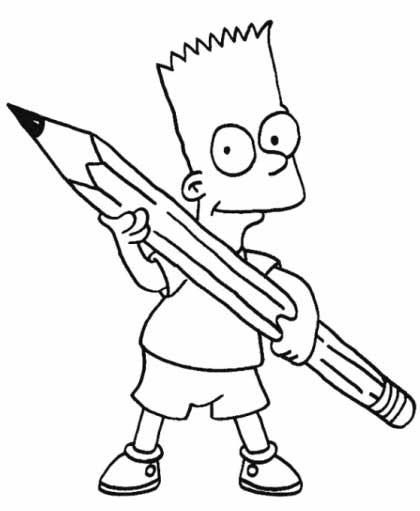Simpson-Ausmalbilder-gratis-downloaden
