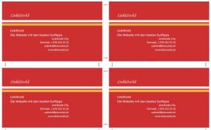 Vorlage Visitenkarten Online Erstellen Und Drucken