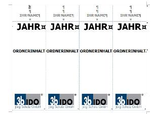 Vorlage Zum Leitz Ordner Beschriften Mit Word Vorlagen4you