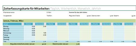 Zeiterfassung-Arbeitszeit-Vorlage-Excel-fuer-Mitarbeiter ...